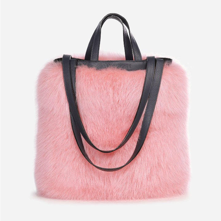 Fur Tote Bags by Alexquisite