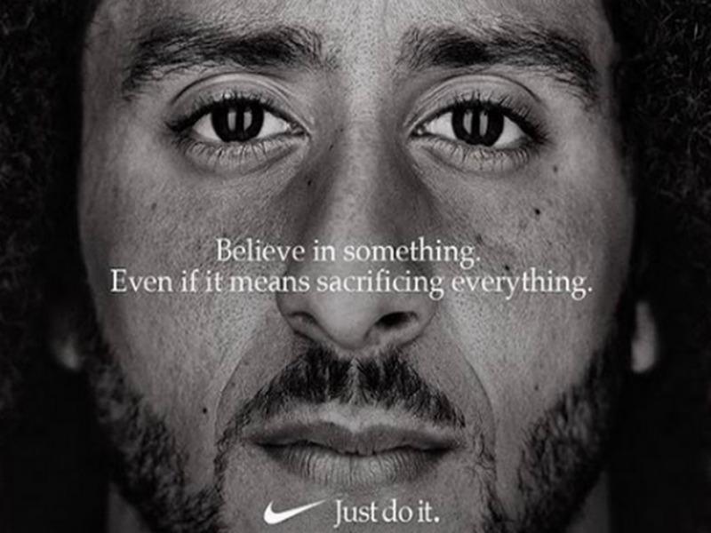 Η Διαφήμιση της Nike με τον colin kaepernick