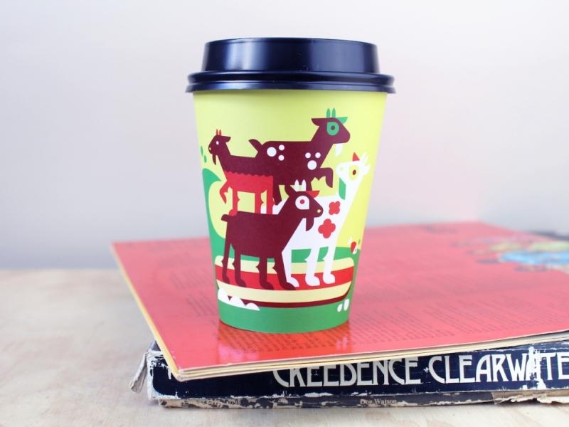 Εκτύπωση Ποτηριών Καφέ