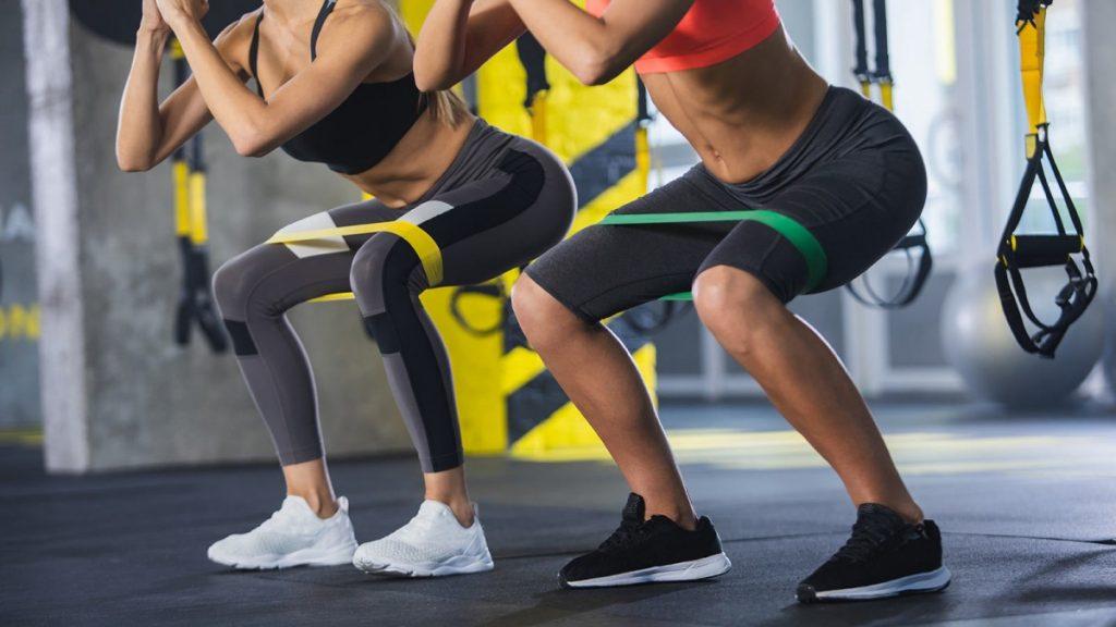 λάστιχα ενδυνάμωσης για pilates