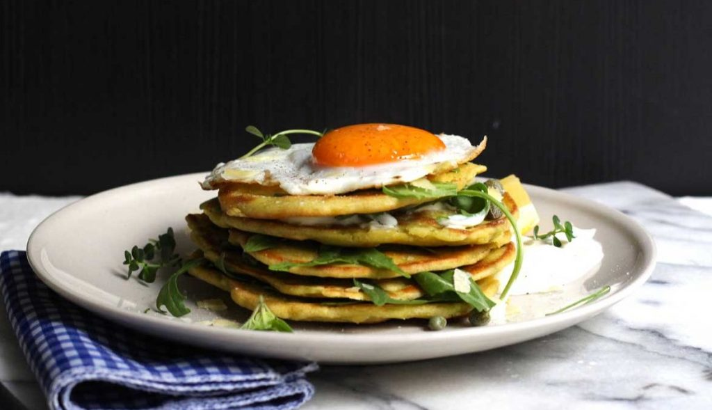 pancakes με πρωτεινη